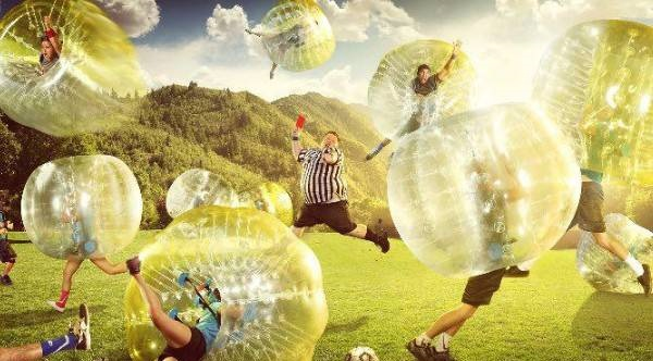 مسابقات فوتبال حبابی