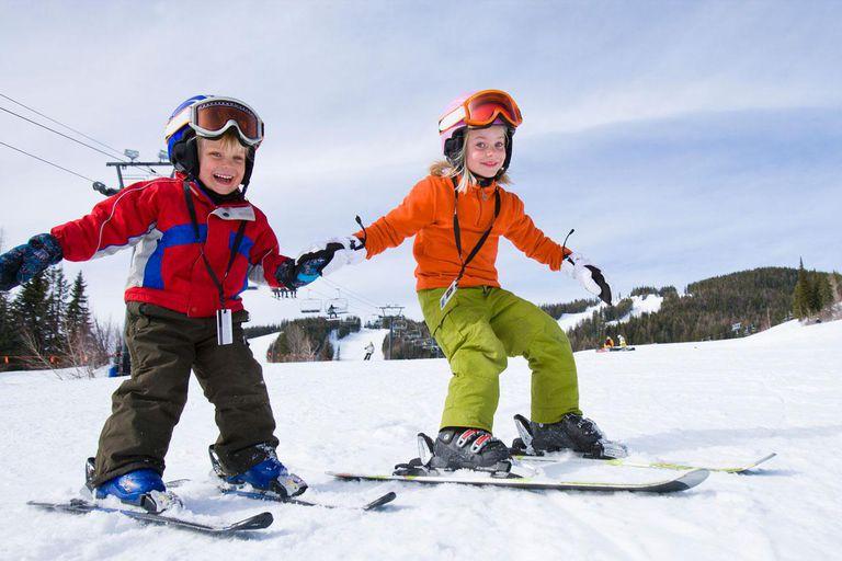 آموزش اسکی کودکان