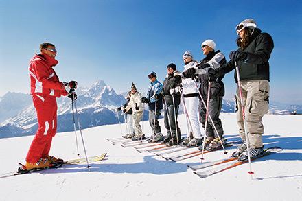 آموزش اسکی